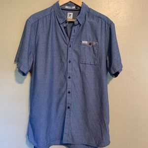 Marc Ecko | Chambray Shirt | Large L
